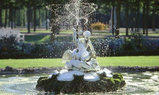 Arionbrunnen im Schlossgarten Schwetzingen; Foto: Staatliche Schlösser und Gärten Baden-Württemberg, Arnim Weischer