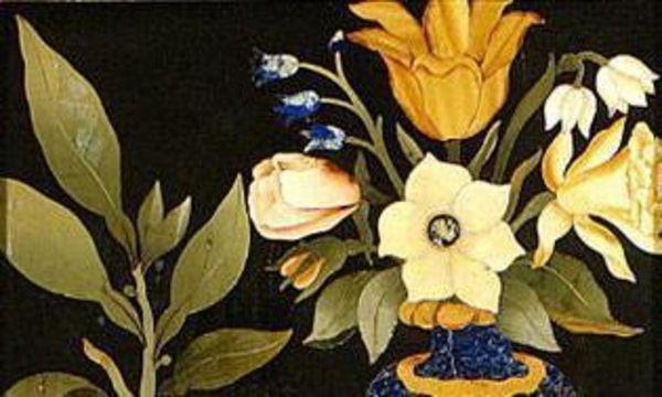 Wandgestaltung im Florentiner Kabinett, Stilleben