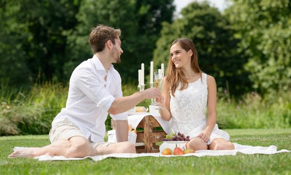 Picknick im Schlossgarten Favorite Rastatt